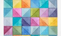 20.5x20.5 Diagonals with white 2011
